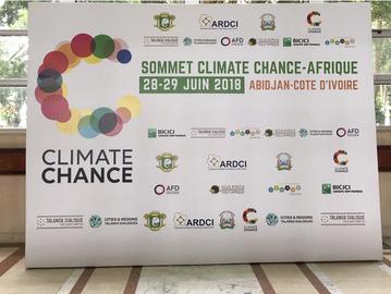 Blu Karb presenta su tecnología de producción de carbón vegetal en la Cumbre de Abidján