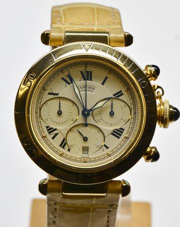 Cartier Pasha Chronograph Köln Uhrmachermeister