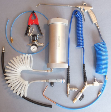 BEDI Gerät - chemische Motorreinigung - Verkokung beseitigen