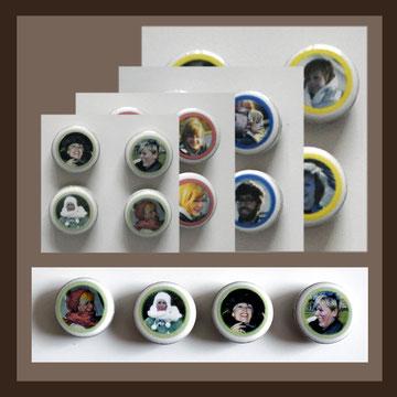 Die anderen Bilder, Andrea Weinke-Lau aus Groß Laasch,  Fotos auf Porzellan gebrannt, Grabbilder, Porzellanbilder, für den Tiergrabstein, Schmuck aus Porzellan, Fliesen für Bad o. Küche, Wände o. Geschirr