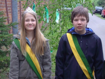 Königspaar 2009 - Belen Christiansen & Steffen Rudoplh