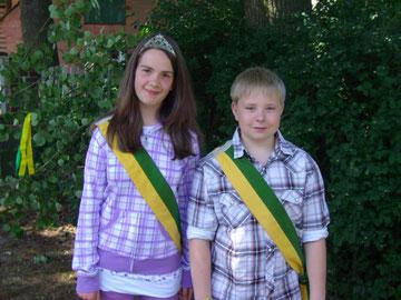 Königspaar 2011 - Jessica Wolter und Sven Krischock