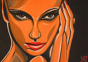 Kopfkino, Öl auf Leinwand, 50 x 70cm