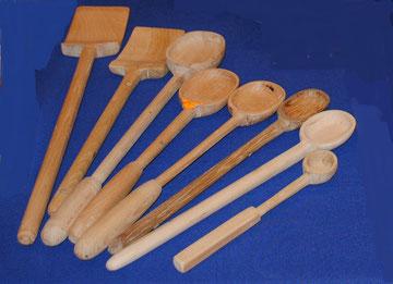 Spatules et cuillères bois : de nombreux modèles sont disponibles. A découvrir !