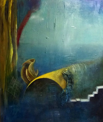 BDL 1910 Öl auf Leinwand 120 x 100 cm