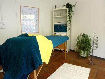 Bild : Raum für energetische Körperarbeit