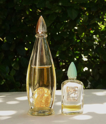 BOURJOIS : RAMAGE PARFUM - 2 MINIATURES DIFFERENTES