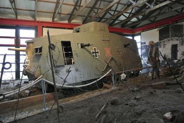初期の頃の戦車