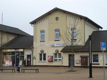 ムンスターの駅舎