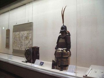 4階で開催中の「大坂の陣への道」(写真提供・大阪城天守閣)