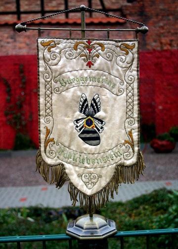 Wimpel der Burggemeinde  - Besitz Walter Hartmann
