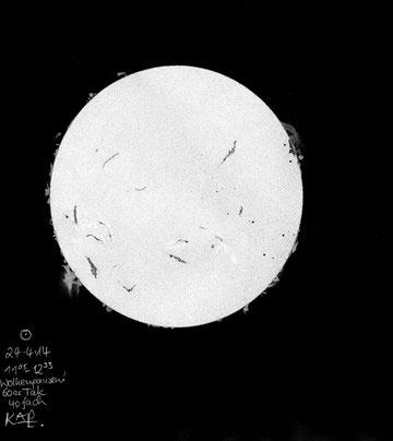 Zeichnung Sonne 24.04.2014