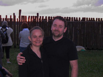 Der Autor und seine Frau