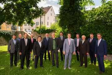 Der Allianzrat der Kommunalen Allianz A7 Franken West