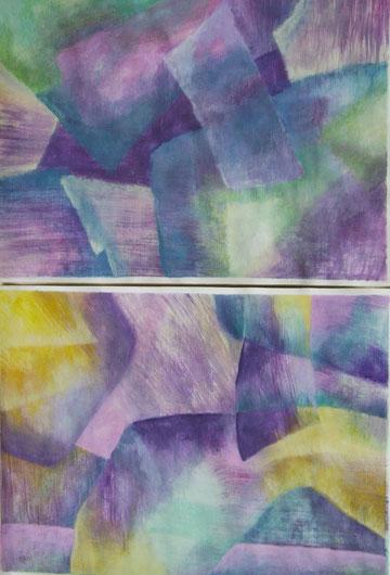 2002  -  papier - 2-teilig  -  58x40 cm