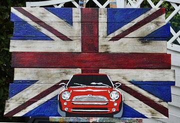 Painting & Branding auf Holz by Divo Santino 2017