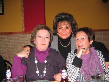 Mis queridas amigas Juanni y Mari Carmen
