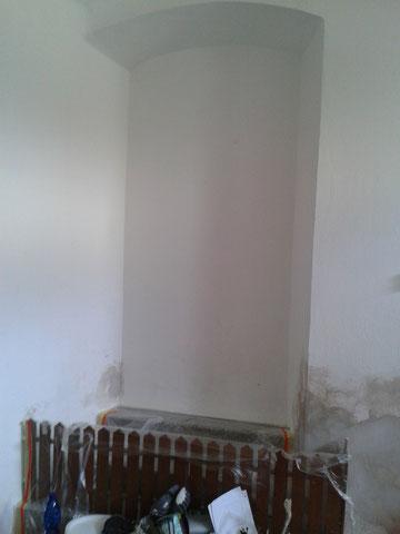 Mauernische-Vorher