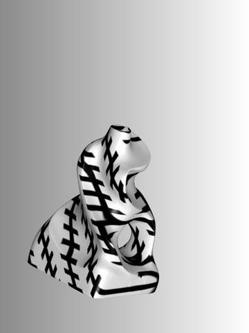 Romana Schuler, Zöllnerfigur, 2012, 3D-Prototyping