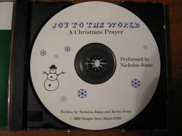 nick jonas young rare cd joy to the world