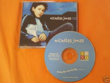 nicholas jonas time for me to fly single rare ino records 2004