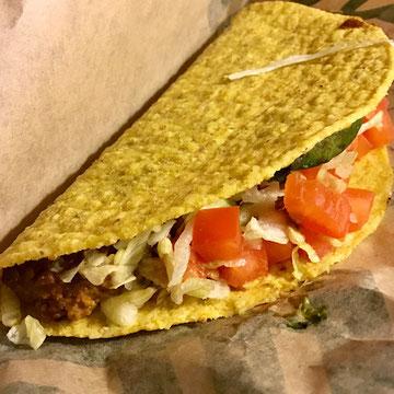 Beyond taco at Del taco