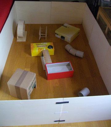 Hamster, Puschelhilfe, Nagerschutz, Auslauf
