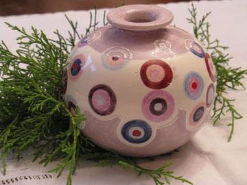 Vase: Punktgenau
