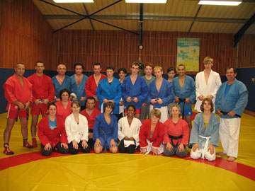 Photo de groupe - Sambo