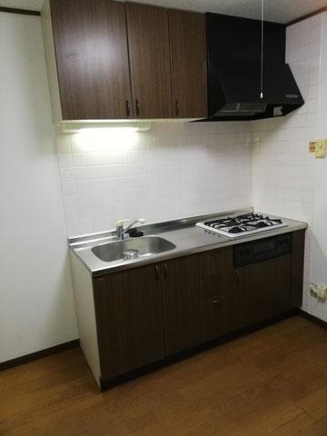 高崎市の賃貸アパート2DK空室クリーニングの完了後写真