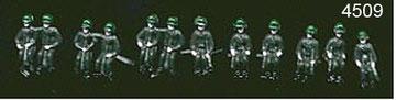4509 Soldados sentados