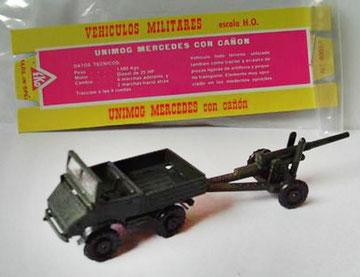4006 Unimog con cañón