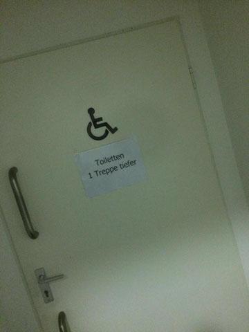 Bild: Behinderten-Toilette
