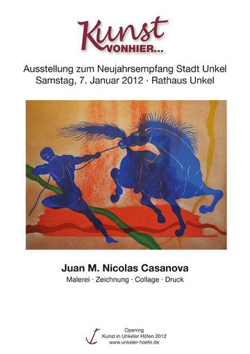 Eröffnungsausstellung                Kunst in Unkeler Höfen 2012