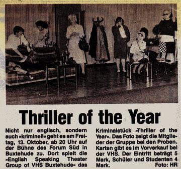 Neue Buxtehuder, 11.10.1989