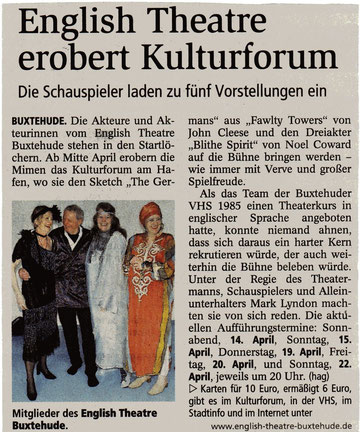 Buxtehuder Tageblatt, 2012-04-05