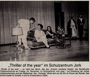 Buxtehuder Tageblatt, 21.11.1989
