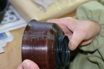 木製椀のヒビの修理