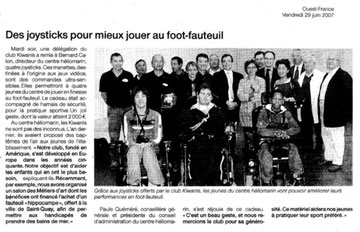 Centre héliomarin de Plérin 26/06/2007