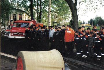 1994 wurde das TLF  in den Dienst der Feuerwehr Vogelsgrün gestellt, welches eine Ersatzbeschaffung der Feuerwehr Auerbach war.
