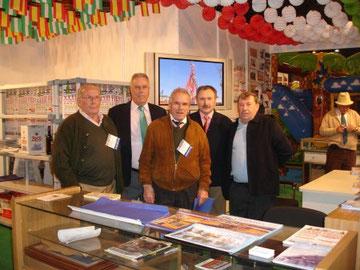 Stand de la Asociación en la Exposición Palacio Congresos en Sevilla