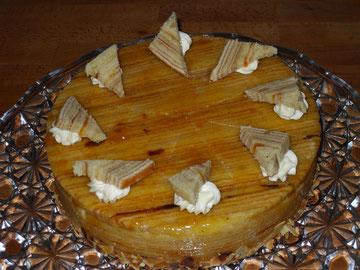 Baumkuchenbuttercremetorte