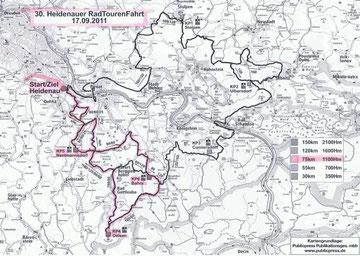 Kopie der Streckenführung übernommen von Dresdner SC 1898 e. V.,          Abt. Radsport