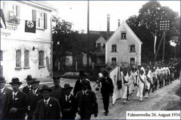 Umzug im Jahre 1934