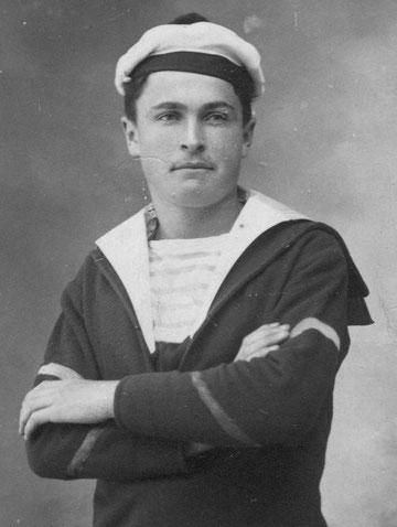 Jean Floch matelot dans la marine pendant la guerre de 14