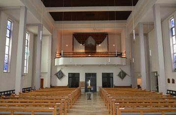 Fleiter-Orgel in Christus König