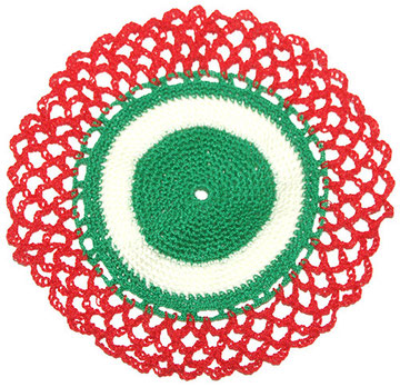 Frascos de vidrio con tapa decorada tejida a crochet