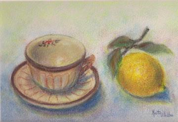 Taza y limón