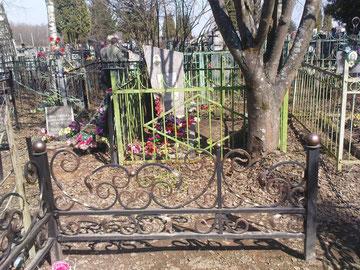 ограда сварная с элементами ковки