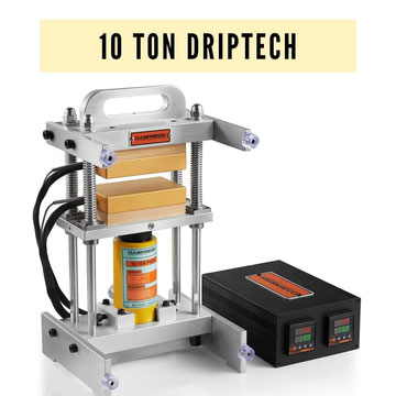 10 Ton Driptech Rosin Press
